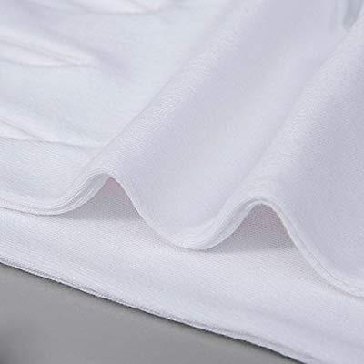 (24) guantes algodón blanco envio gratis