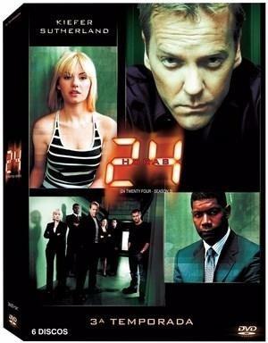 24 horas - 3ª temporada - (6 dvds) - original
