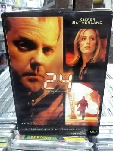 24 horas quinta temporada box digipack com 7 dvds