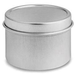24 latas metal pastilleros recuerdo o contenedor vela (2 oz)