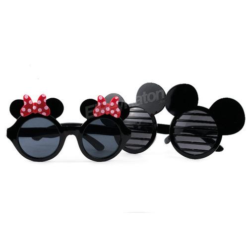 24 lentes de mimi mickey minnie mouse para fiestas batucadas