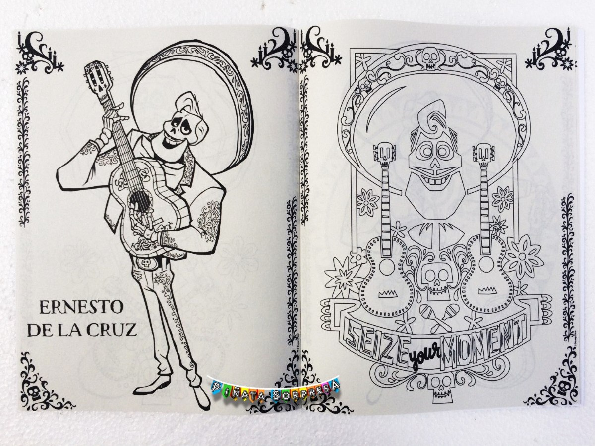 24 Libro Coco Disney Juguete Piñata Fiesta Bolo Regalo Cumpl ...