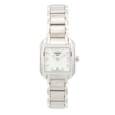 37489cf5329 24 Mm Plata Pulsera De Acero Y T02138582 Caso Reloj Tissot ...