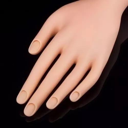 24 mão postiça de treino manicure dedo postiço unha acrigel