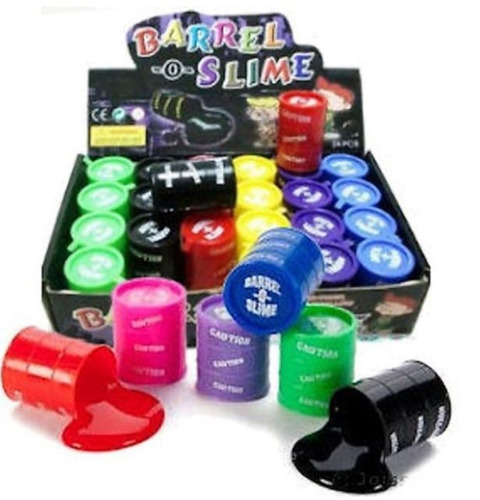 24 moco gorila barrel slime chicas barril mayoreo