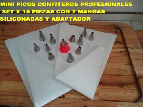 24 picos d reposteria p/ decorar tortas bizcochuelo cupcakes