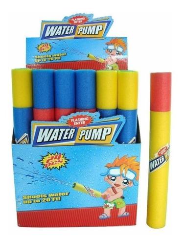 24 pistola lanza agua 60cm water pump flotador pileta carnav