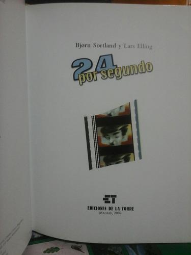 24 por segundo, sortland y elling, novela grafica.