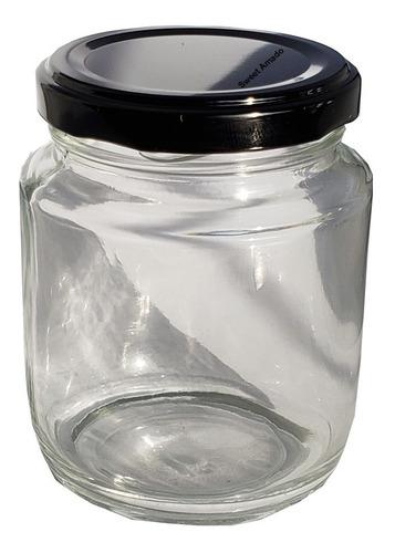 .24 pote vidro tampa metal bolo pote 240ml belém sweet amado
