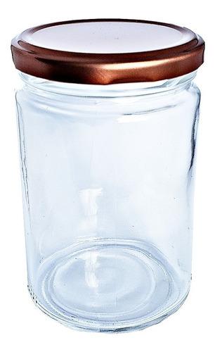 .24 potes vidro salada boca larga tampa branca andino 360ml