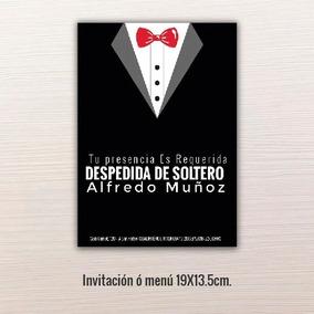 24 Pz Invitaciones Despedida De Solteros 19x13 5cm
