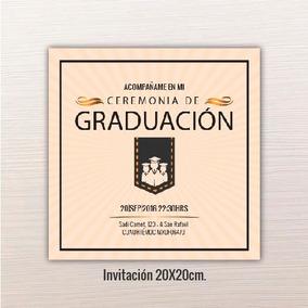 Invitaciones De Graduacion Licenciatura Mascaras