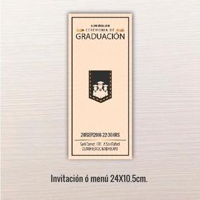 Paquetes De Graduacion Preparatoria Invitaciones Para