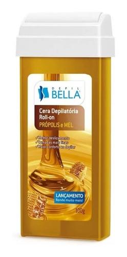 24 rolon depil bella depilação cera - roll-on + frete gratis