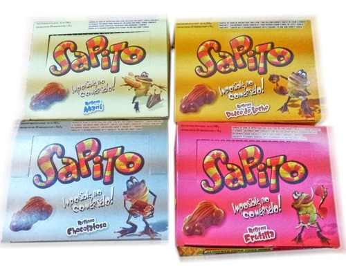 24 sapito chocolate ideal fiestas infantiles  la golosineria