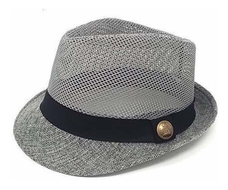 a6140da92 24 Sombreros Fedora Clasicos Extremadamente Ligeros - Malla
