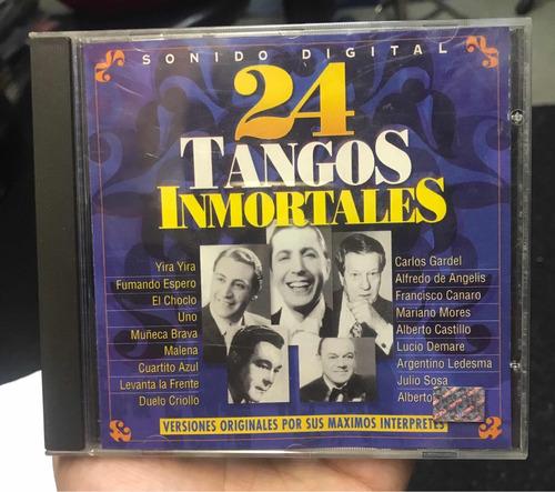 24 tangos inmortales cd