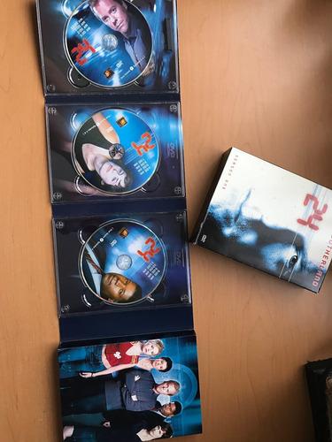24, temporada 1 en dvd. edición de colección, importada.