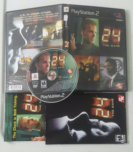 24 the game  /  playstation 2 ps2
