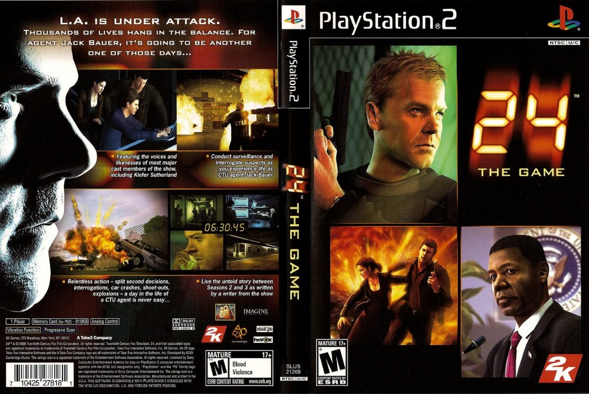 24hrs:The Game Playstation 2