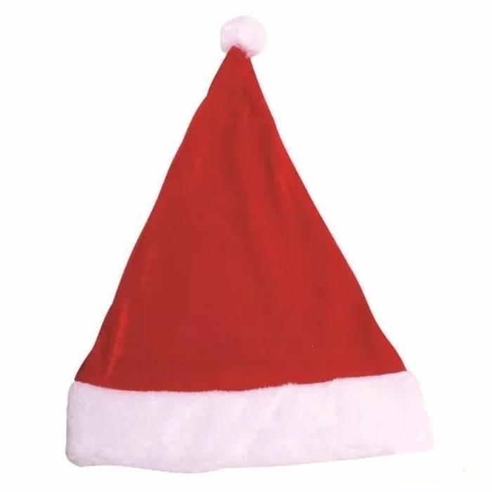 24 Toucas Gorro Natal Papai Noel Atacado Em Feltro Festa - R  64 fd83b78c612