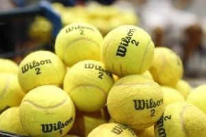 b12c1f841 24 Tubos Bolas De Tênis Wilson Championship Extra Duty - R  649