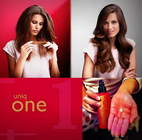 24 uniq one revlon hair treatment 10 em 1 - 150ml - original