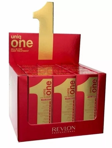 24 uniq one revlon hair treatment 10 em 1 - 150ml - original
