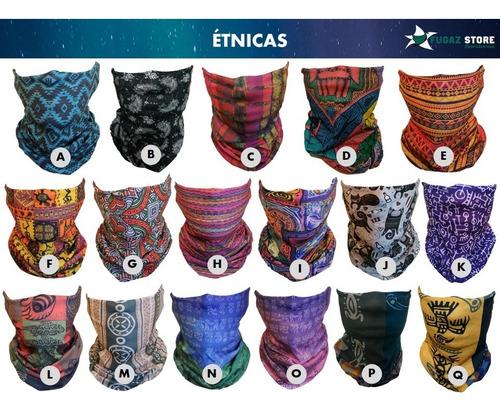 24 x bandanas cuellos tubulares + 60 diseños pañuelos oferta