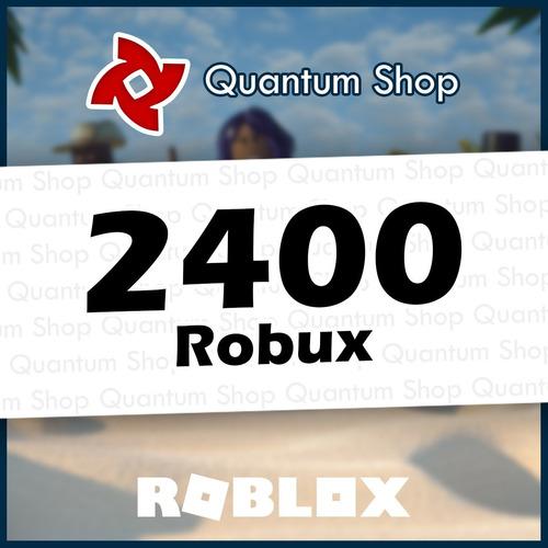 2400 robux - roblox mejor precio todas las plataformas