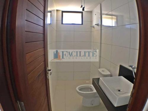 2438 - apartamento para vender, brisamar, joão pessoa, pb - 2438-1830