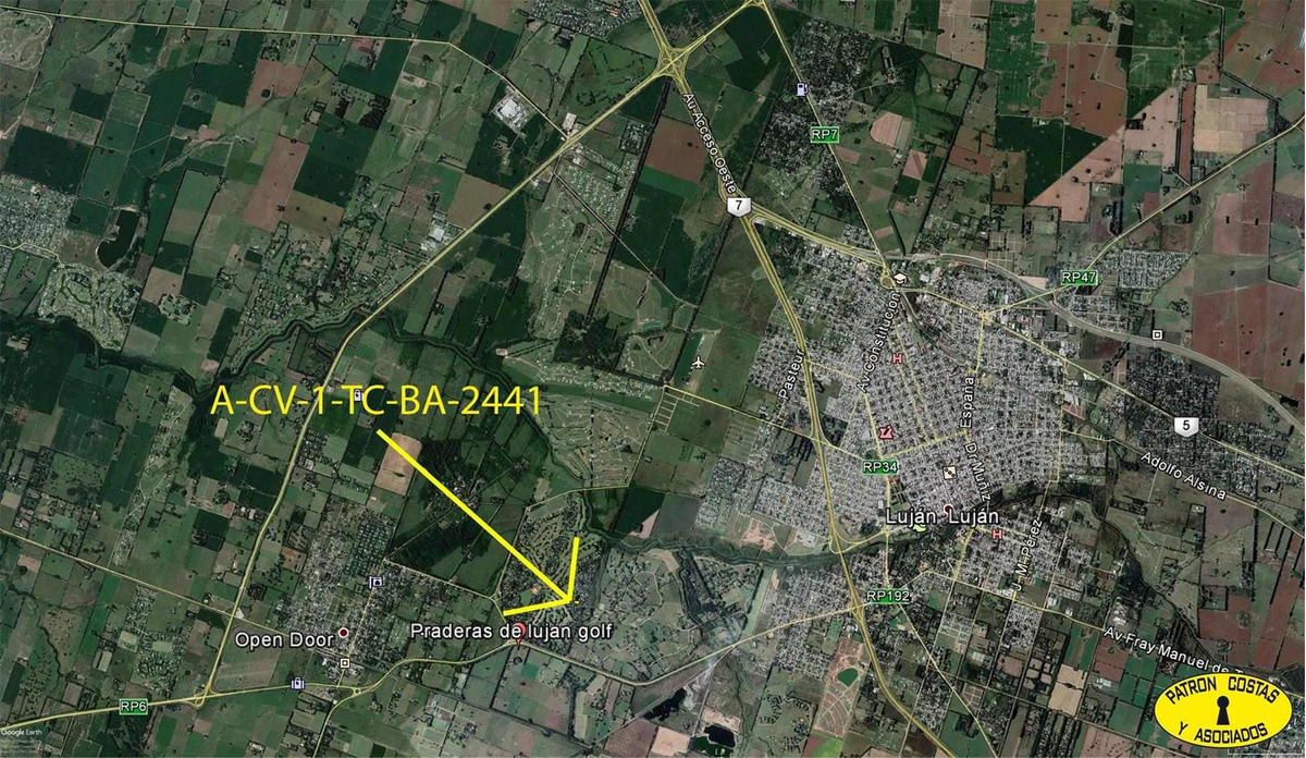 2441mj-espectacular lote en las praderas 900 m2