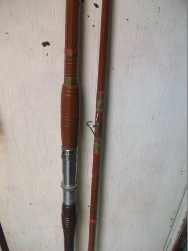2,45  antigua caña de roble exagonal portareel ferpas unica