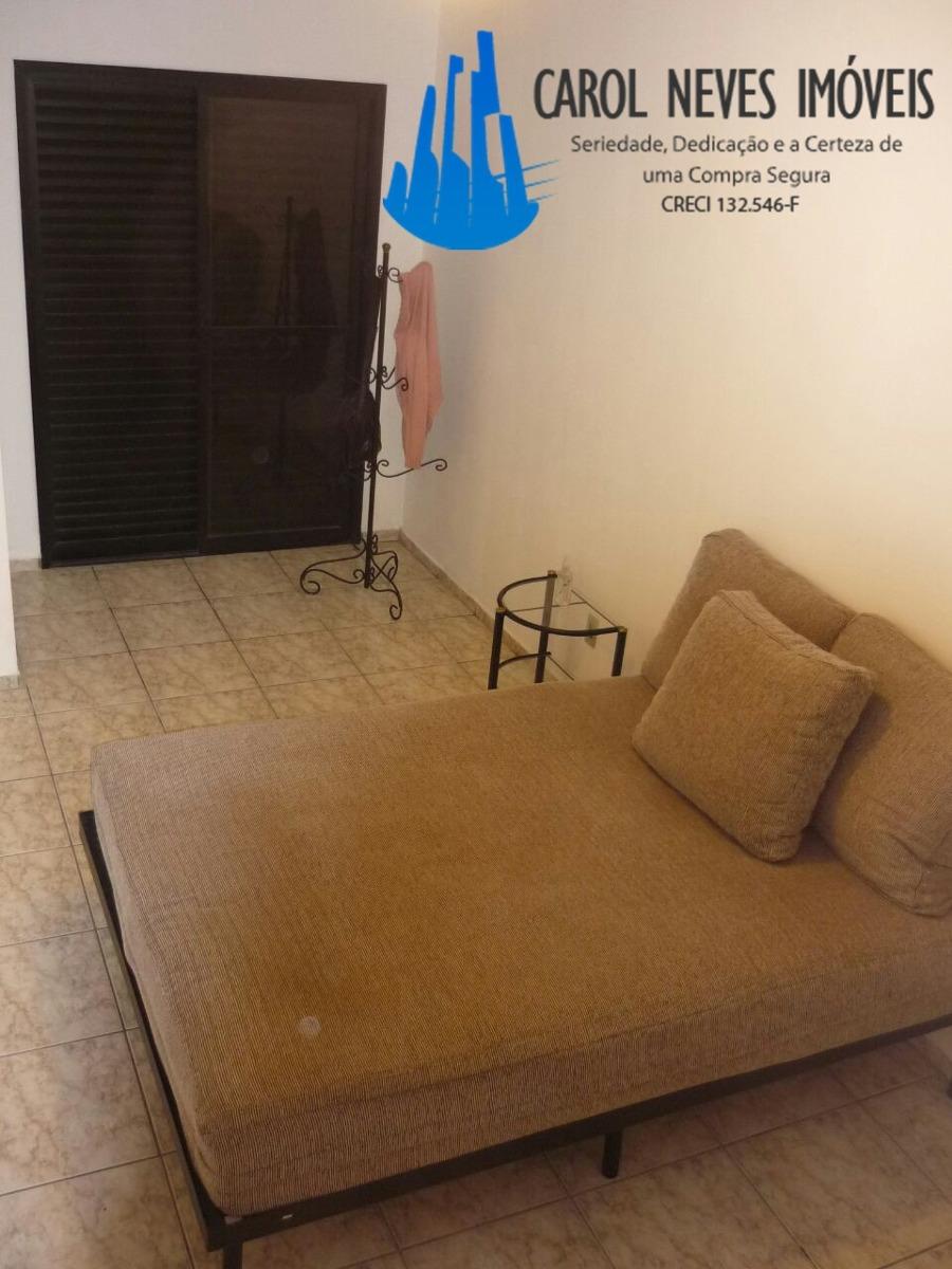 2462- ótimo apartamento á venda na praia grande lado praia