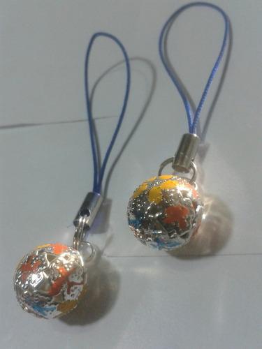 248 se vende mini llamadores de angeles con baño de plata .