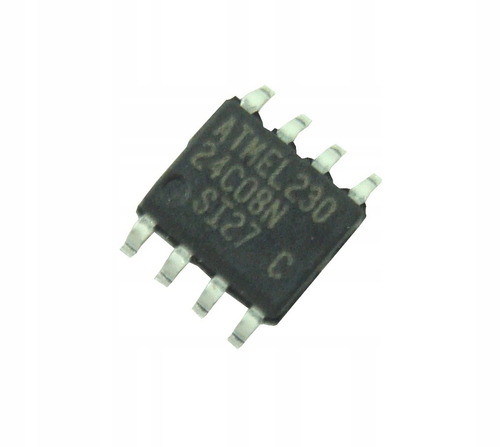 24c08 24c08n sop8 integrado smd at24c08