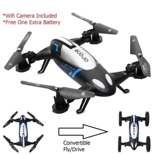 2.4g 4ch 6 eje giro 2mp wifi rc quadcopter vuelo coche