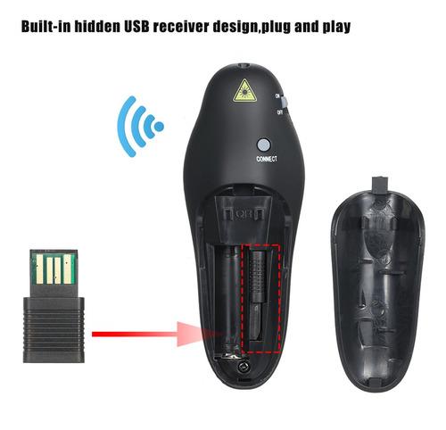 2.4g ppt pen pointer con control remoto para presentaciones