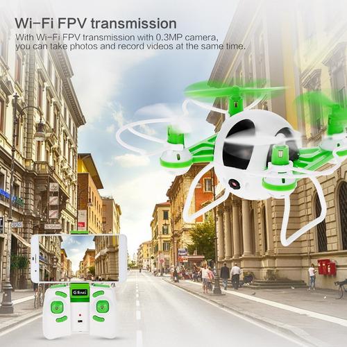 2.4ghz drone mantener altitud g-sensor de la trayectoria de