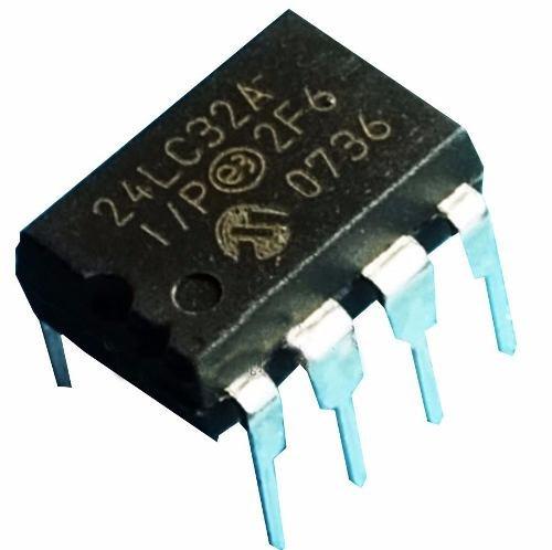 24lc32 pic24lc32a-i/p dip-8 de la memoria sxlkj