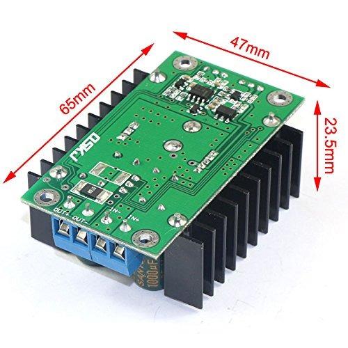 24v to 12v dc converter, drok adjustable