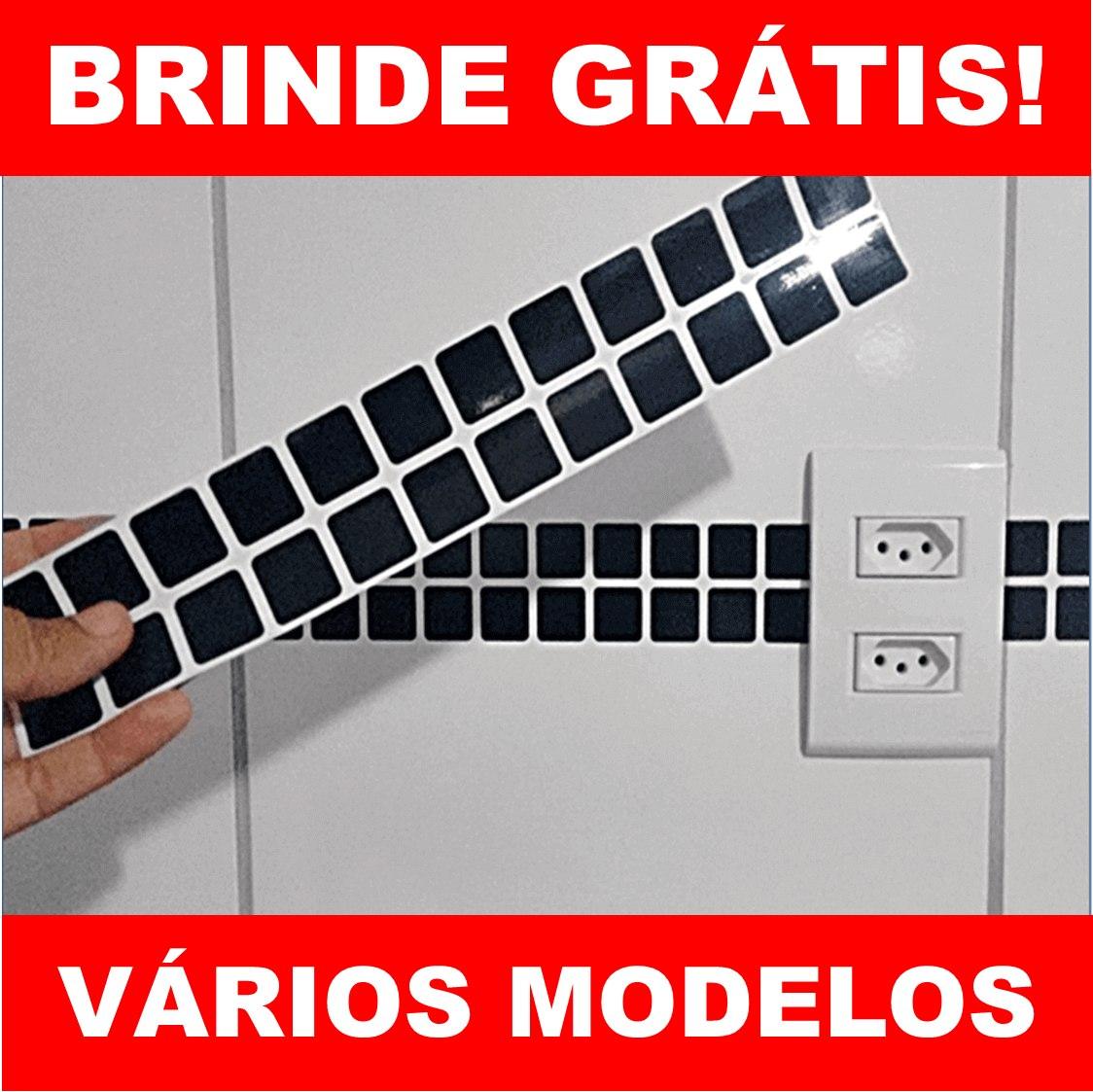 b93e095b4 25 Adesivos De Azulejo + Brindes - Pastilha Faixa De Cozinha - R  22 ...