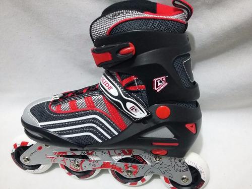 25 al 27mx patines action  ajustables +envio +gratis