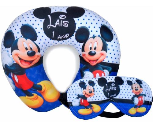 25 almofadas personalizadas + máscara dormir lembrancinhas