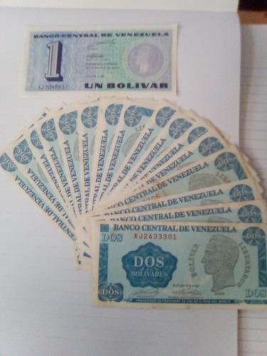 25 billetes tinoquito  2bs  serial consecutivo