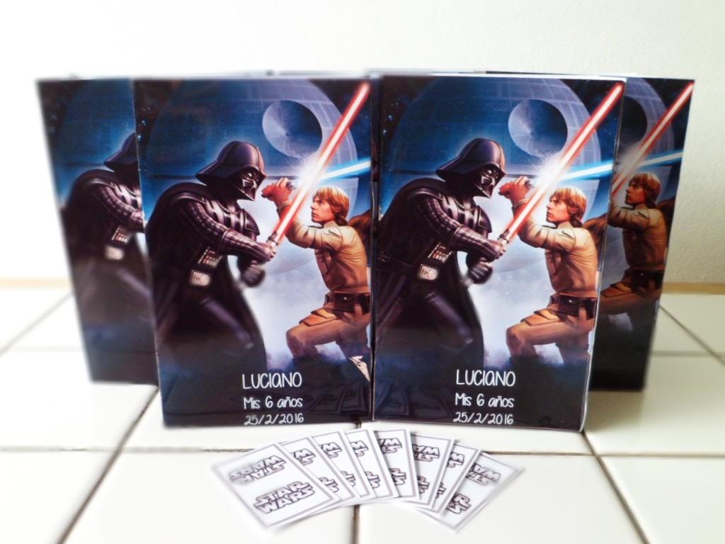 e7c5fc517 25 Bolsitas Cumpleaños Star Wars - $ 400,00 en Mercado Libre