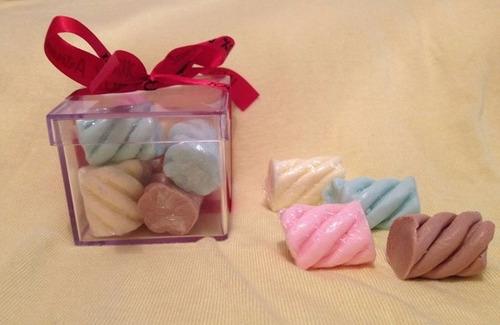 25 caixas de sabonetes marshmallows + frete gratis