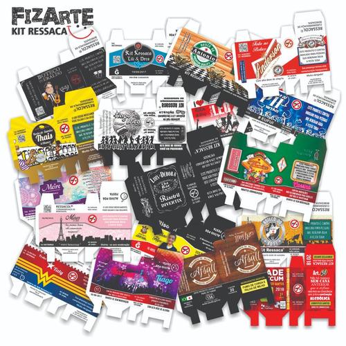 25 caixinhas kit ressaca lembrancinha aniversário carnaval 2