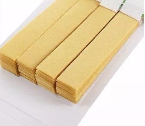 25 cartela medidor ph fita 80 tiras papel aquario piscina
