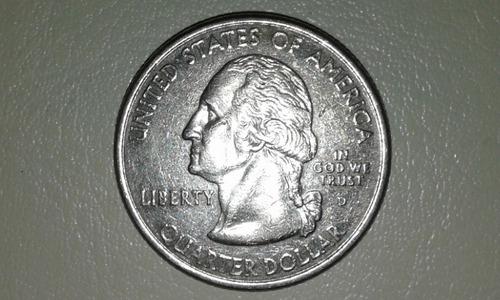 25 centavos de indiana 1816 a 2002 no certificada